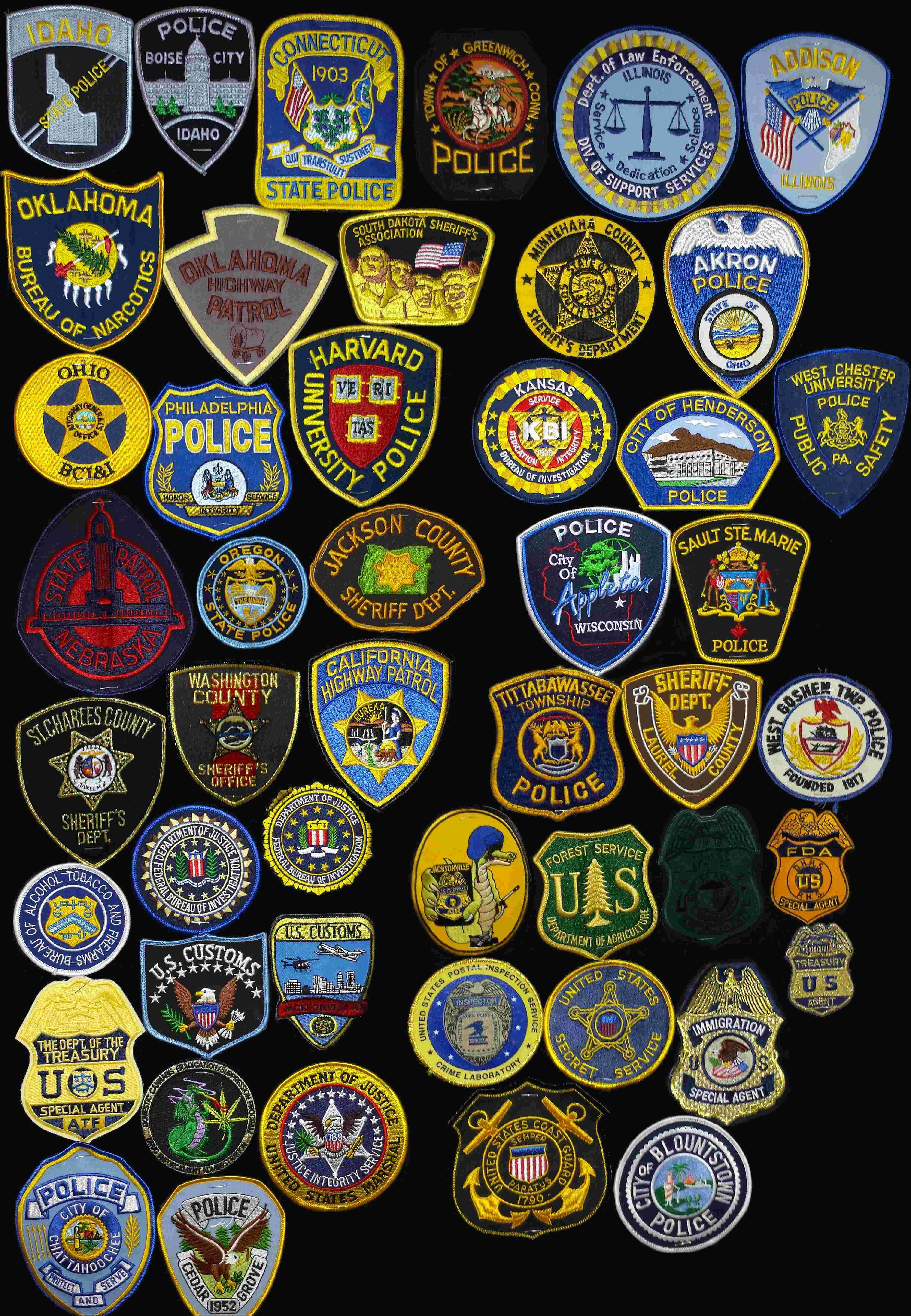 Miscellaneous Law Enforcement Patches